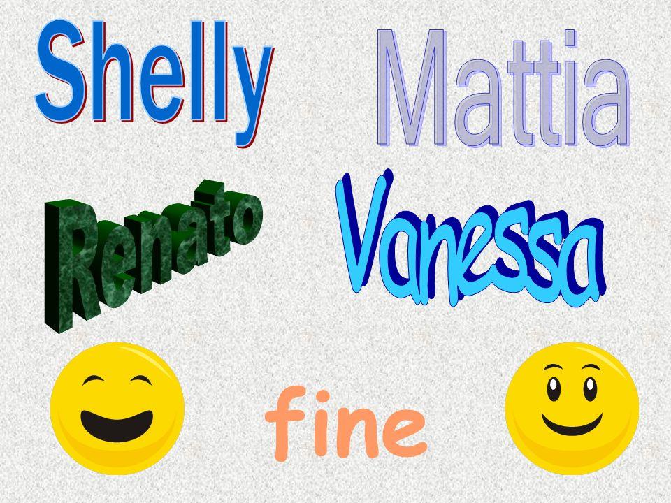 Shelly Mattia Vanessa Renato fine