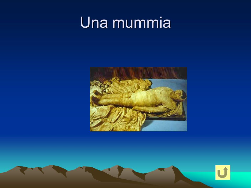 Una mummia