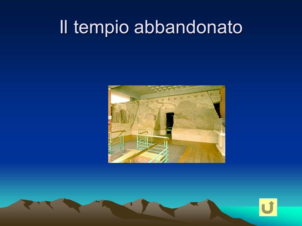 Il tempio abbandonato