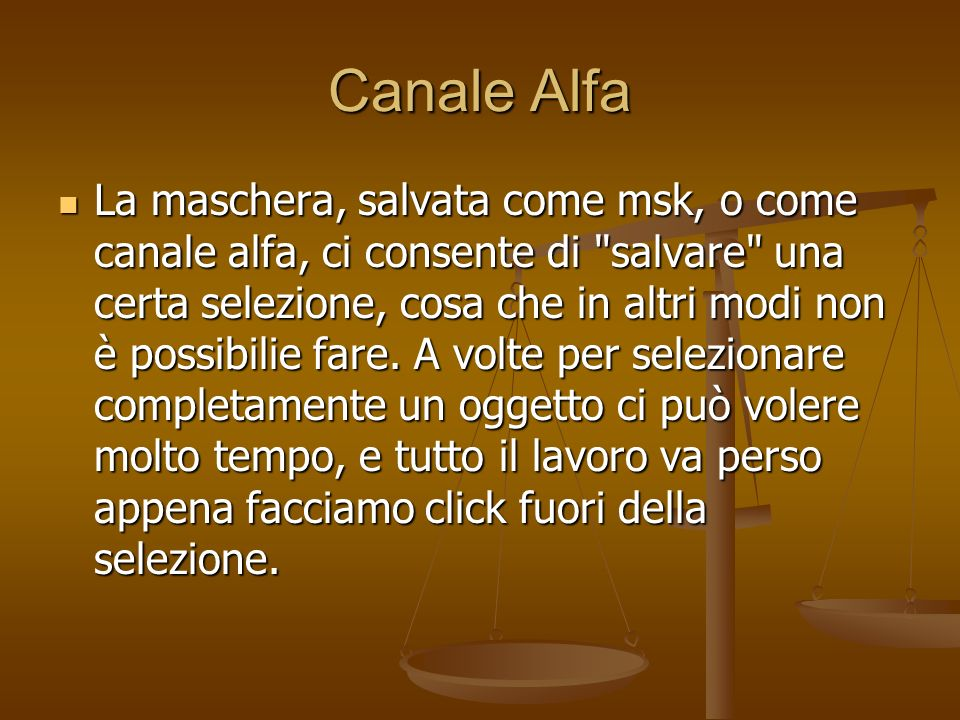 Canale Alfa