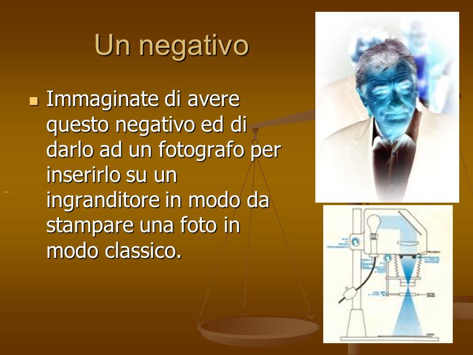 Un negativo