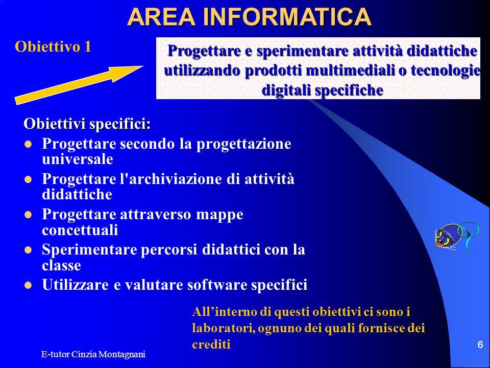AREA INFORMATICA Obiettivo 1
