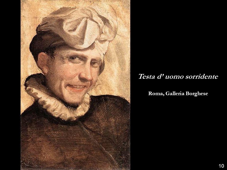 Testa d' uomo sorridente Roma, Galleria Borghese