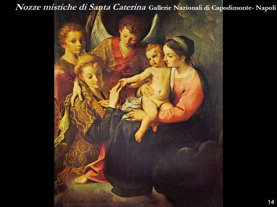 Nozze mistiche di Santa Caterina Gallerie Nazionali di Capodimonte- Napoli
