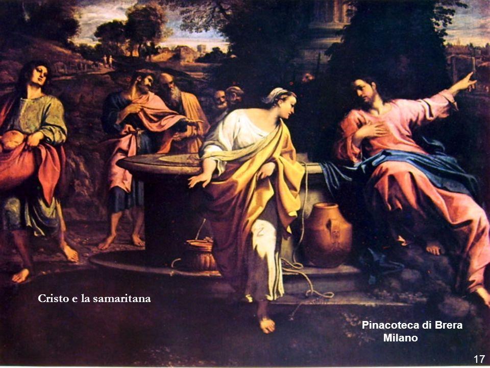 Cristo e la samaritana Pinacoteca di Brera Milano 17