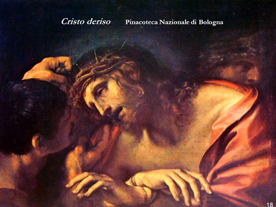 Cristo deriso Pinacoteca Nazionale di Bologna