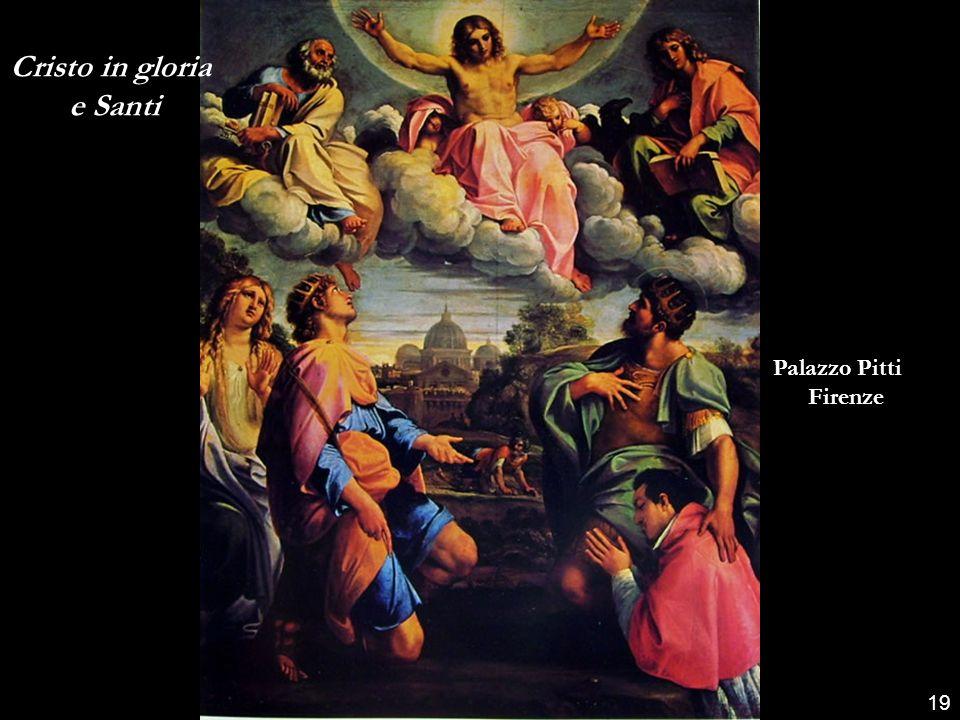 Cristo in gloria e Santi