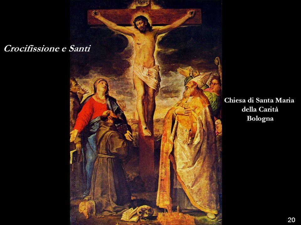 Crocifissione e Santi Chiesa di Santa Maria della Carità Bologna 20