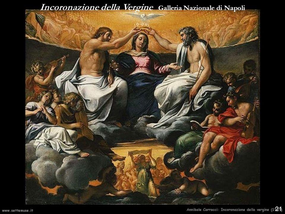 Incoronazione della Vergine Galleria Nazionale di Napoli