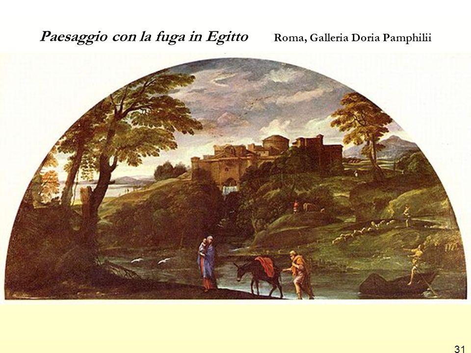 Paesaggio con la fuga in Egitto Roma, Galleria Doria Pamphilii