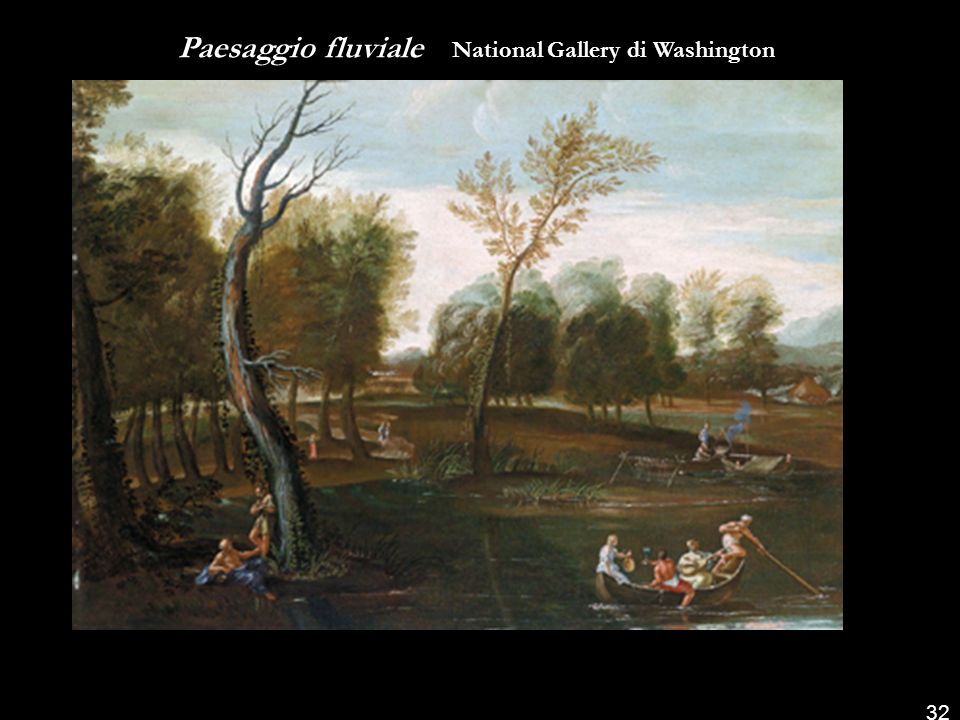 Paesaggio fluviale National Gallery di Washington