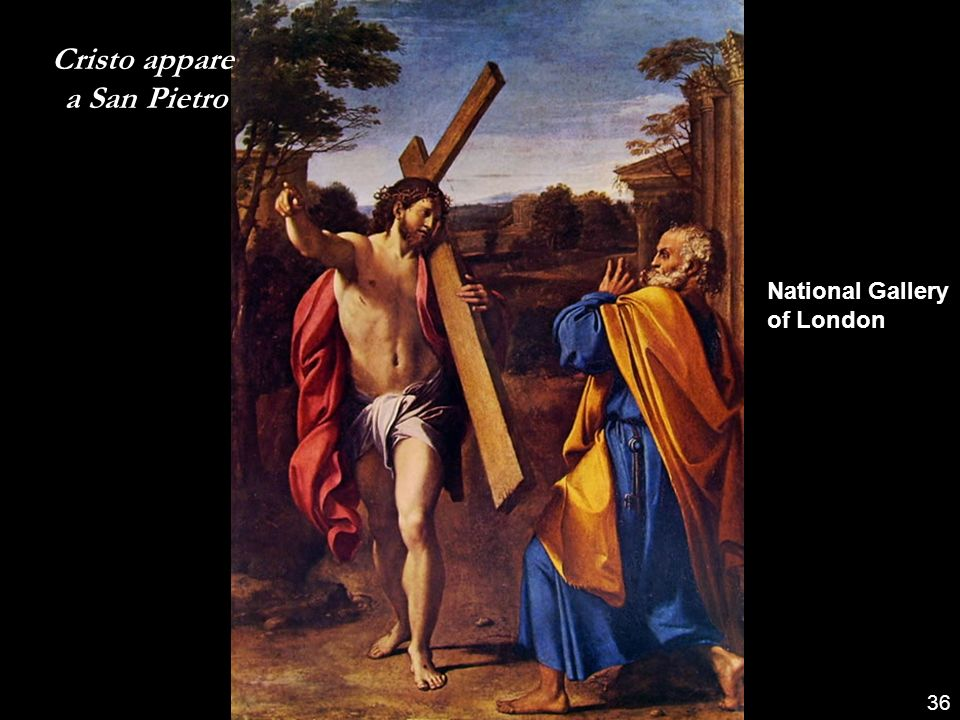 Cristo appare a San Pietro