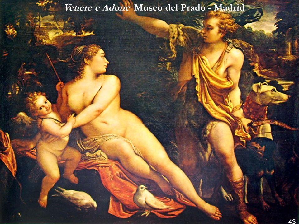 Venere e Adone Museo del Prado - Madrid