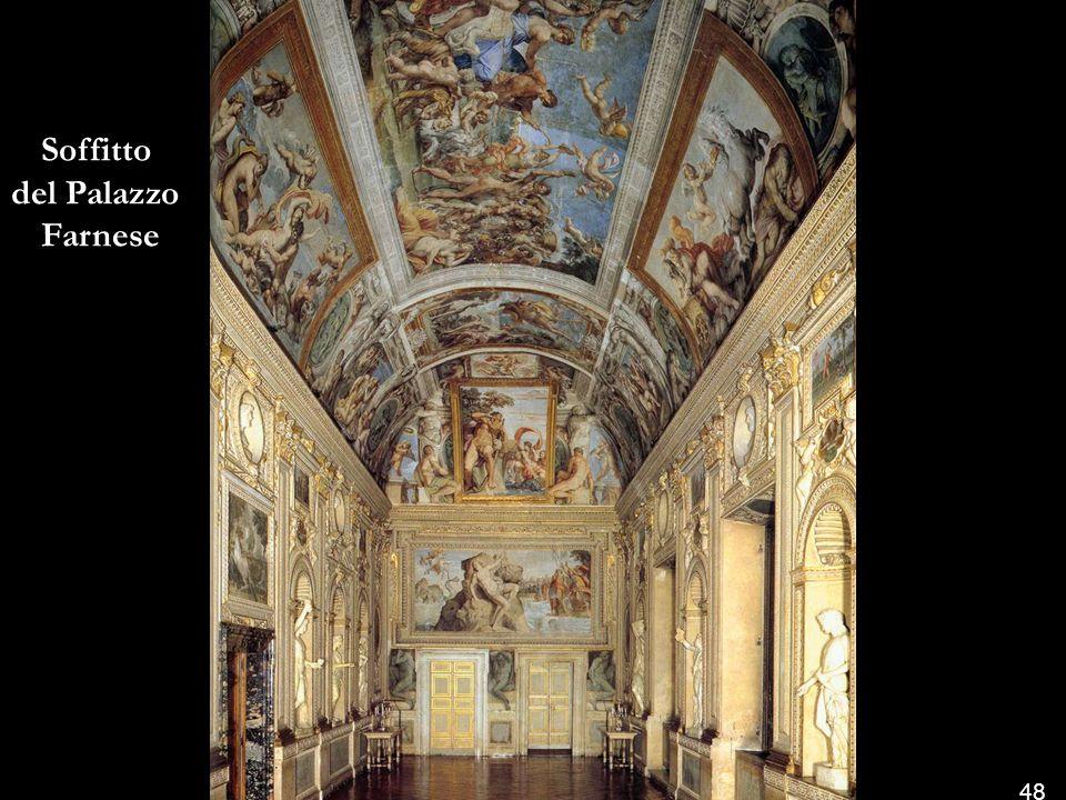 Soffitto del Palazzo Farnese