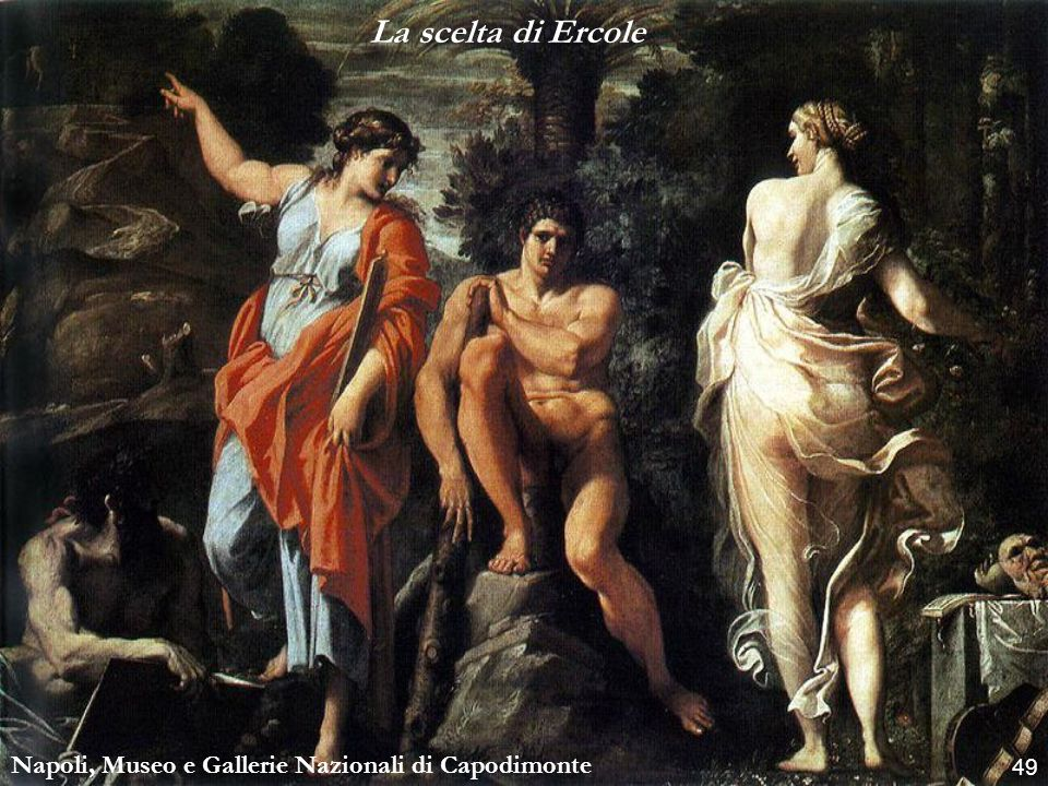 La scelta di Ercole Napoli, Museo e Gallerie Nazionali di Capodimonte