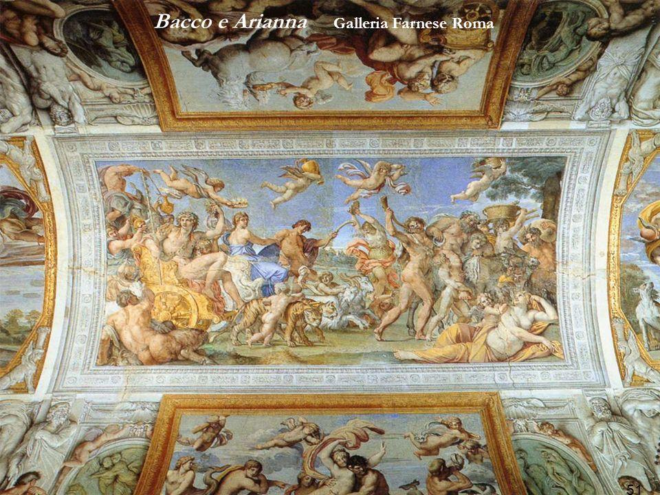 Bacco e Arianna Galleria Farnese Roma