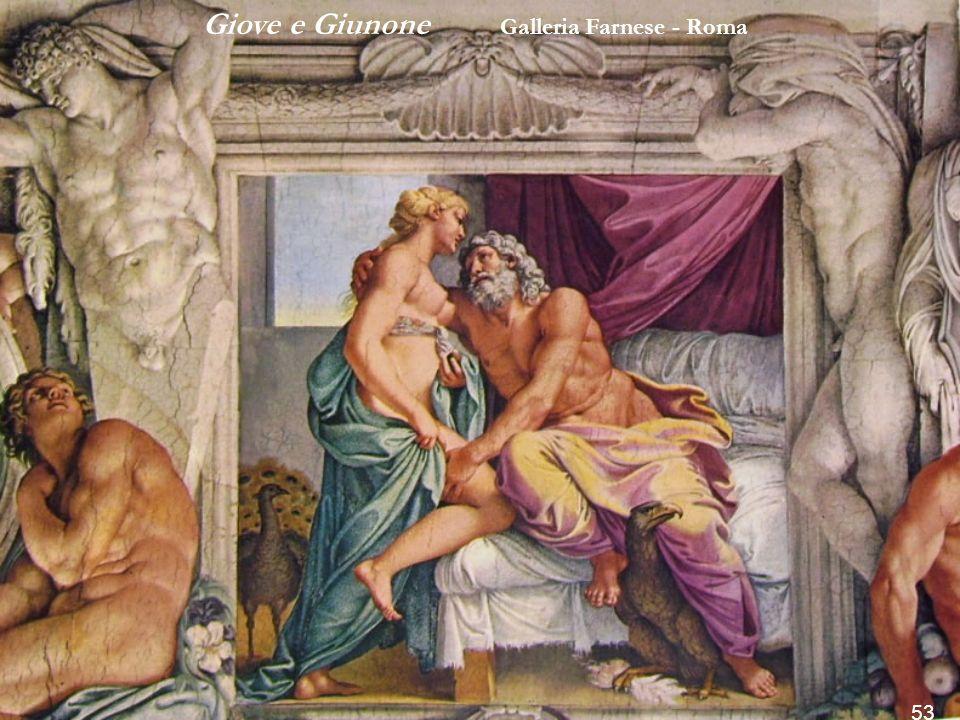 Giove e Giunone Galleria Farnese - Roma
