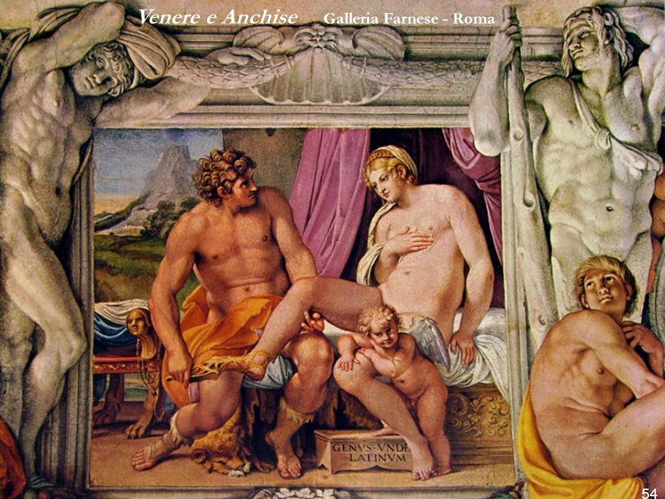 Venere e Anchise Galleria Farnese - Roma