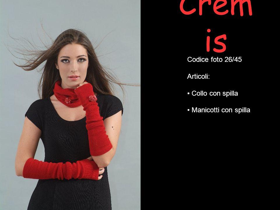 Cremis Codice foto 26/45 Articoli: Collo con spilla