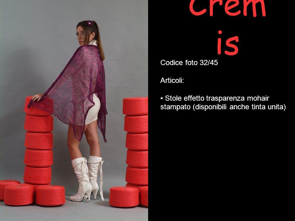 Cremis Codice foto 32/45 Articoli:
