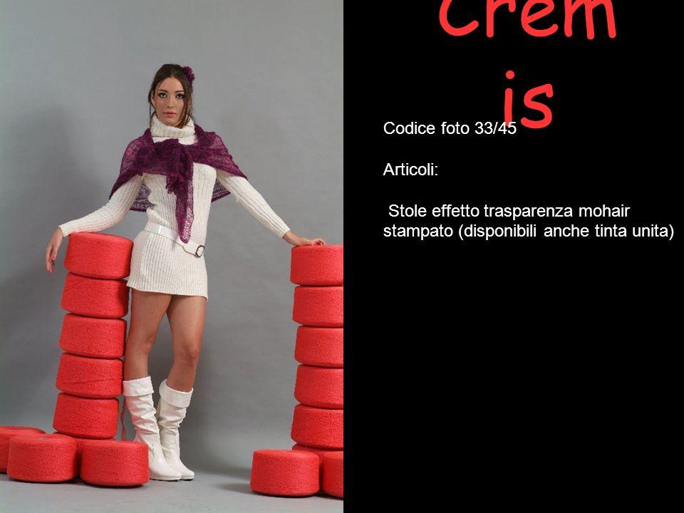 Cremis Codice foto 33/45 Articoli: