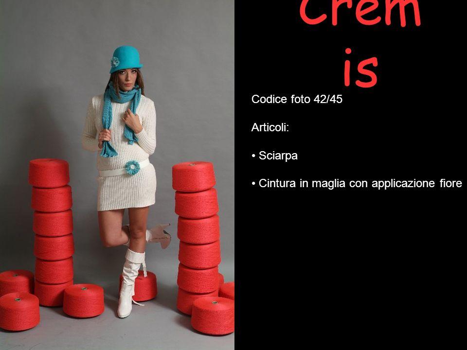Cremis Codice foto 42/45 Articoli: Sciarpa