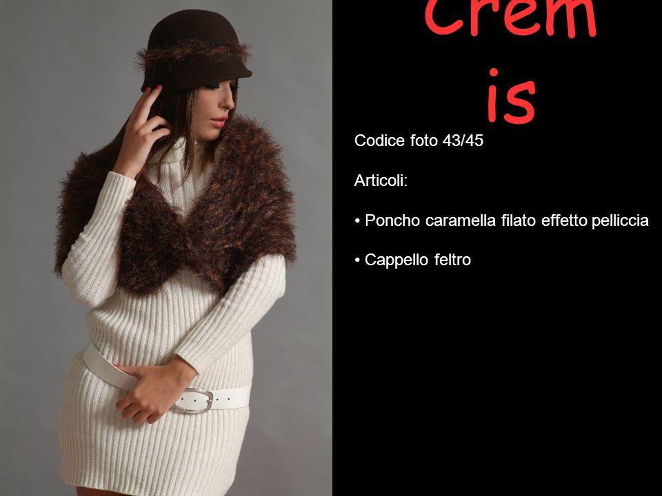Cremis Codice foto 43/45 Articoli: