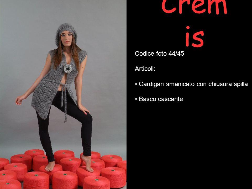 Cremis Codice foto 44/45 Articoli: