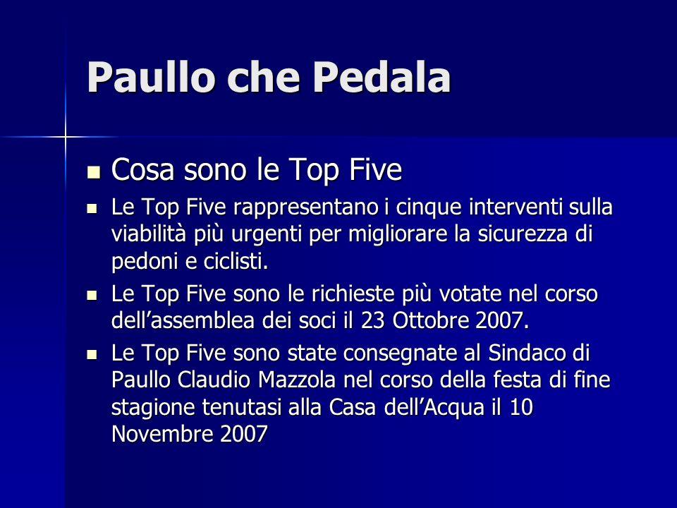 Paullo che Pedala Cosa sono le Top Five