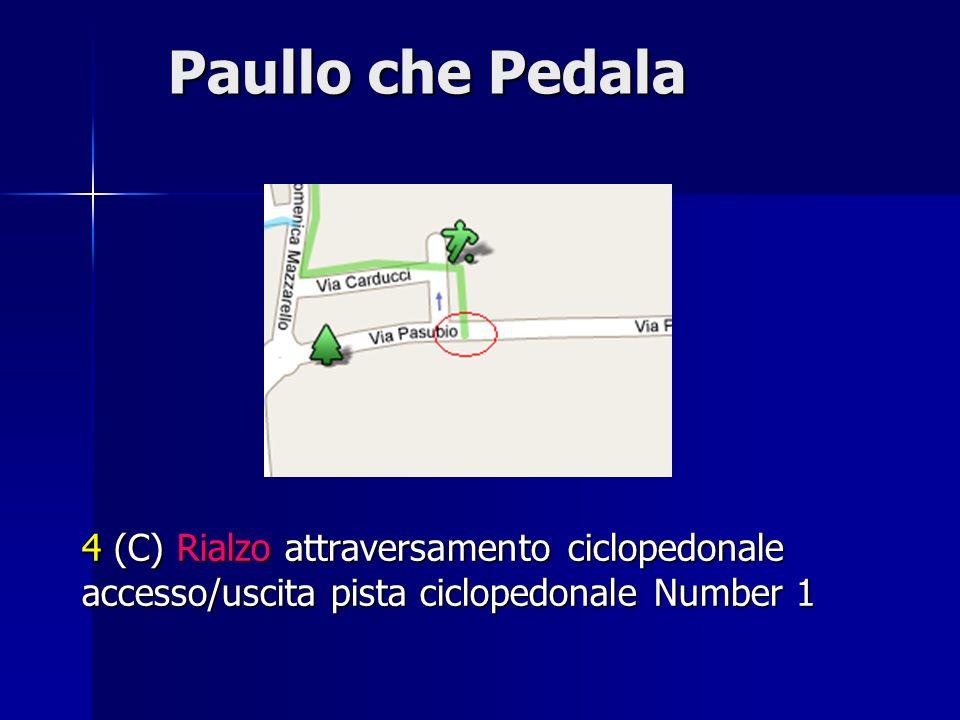 Paullo che Pedala 4 (C) Rialzo attraversamento ciclopedonale accesso/uscita pista ciclopedonale Number 1.