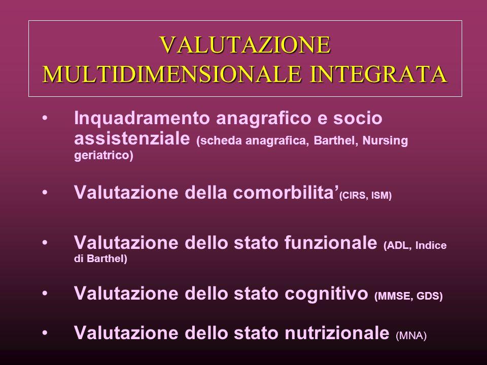 VALUTAZIONE MULTIDIMENSIONALE INTEGRATA