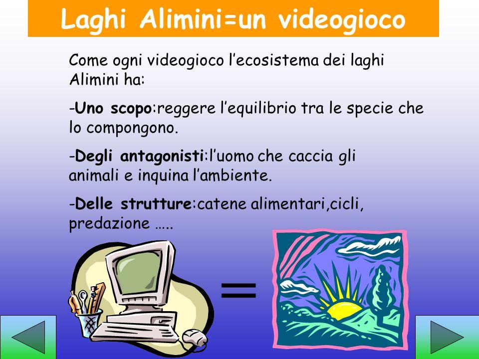 Laghi Alimini=un videogioco