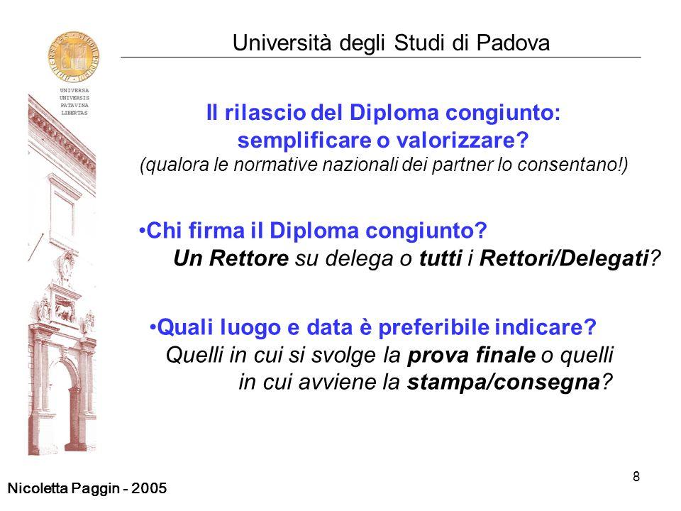 Il rilascio del Diploma congiunto: semplificare o valorizzare