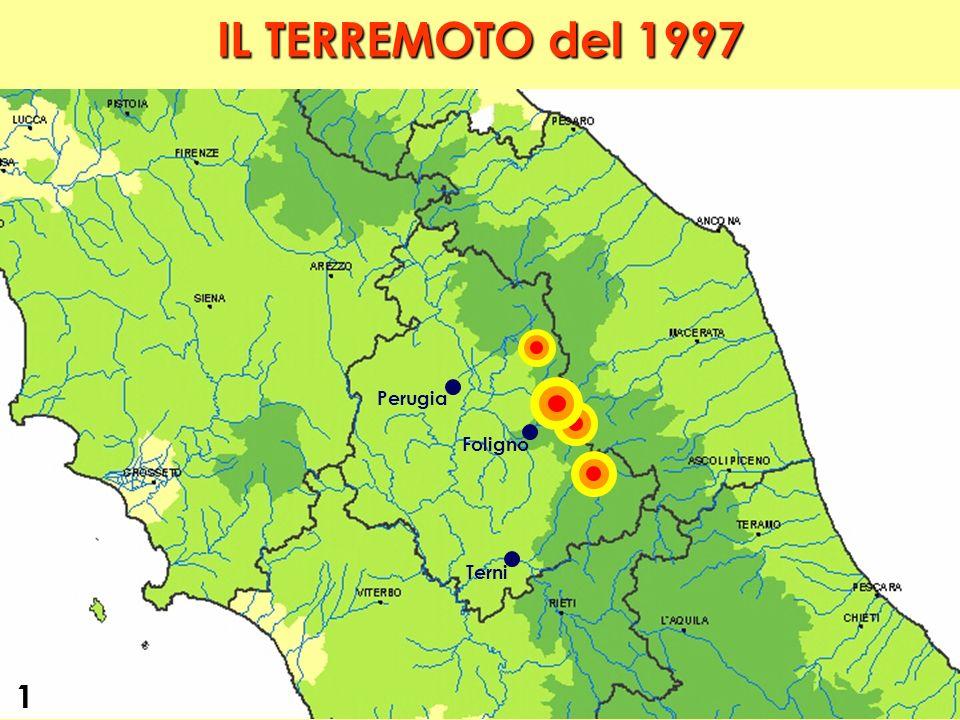 IL TERREMOTO del 1997 Perugia Foligno Terni 1