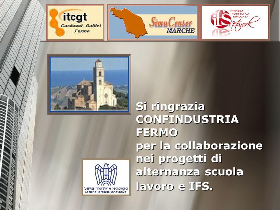 Si ringrazia CONFINDUSTRIA FERMO per la collaborazione nei progetti di alternanza scuola lavoro e IFS.