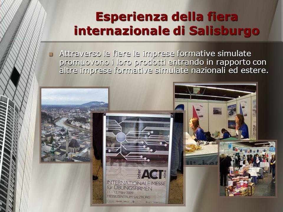 Esperienza della fiera internazionale di Salisburgo