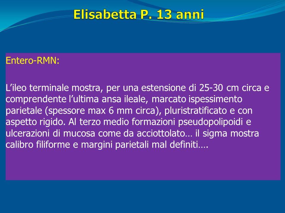 Elisabetta P. 13 anni Entero-RMN: