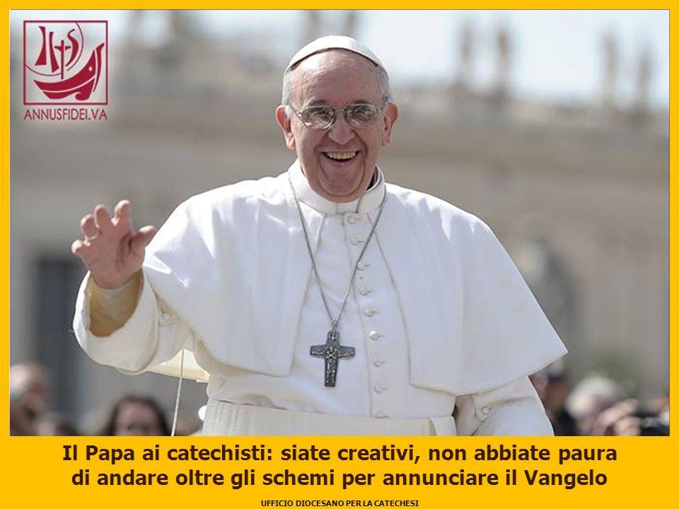 Il Papa ai catechisti: siate creativi, non abbiate paura