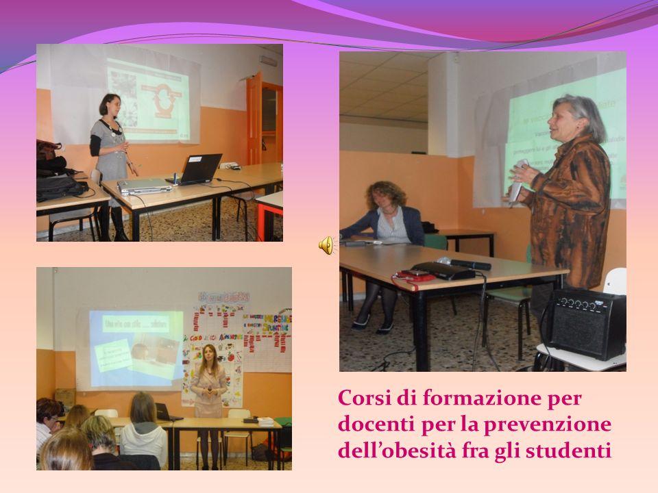Corsi di formazione per docenti per la prevenzione dell'obesità fra gli studenti