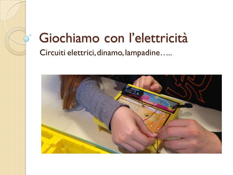 Giochiamo con l'elettricità