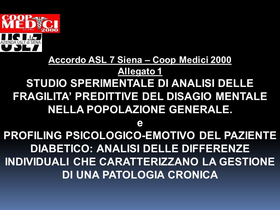 Accordo ASL 7 Siena – Coop Medici 2000