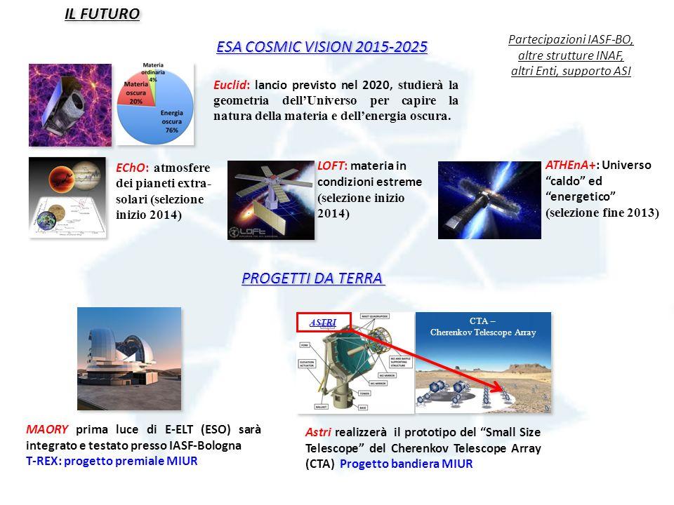 IL FUTURO ESA COSMIC VISION 2015-2025 PROGETTI DA TERRA
