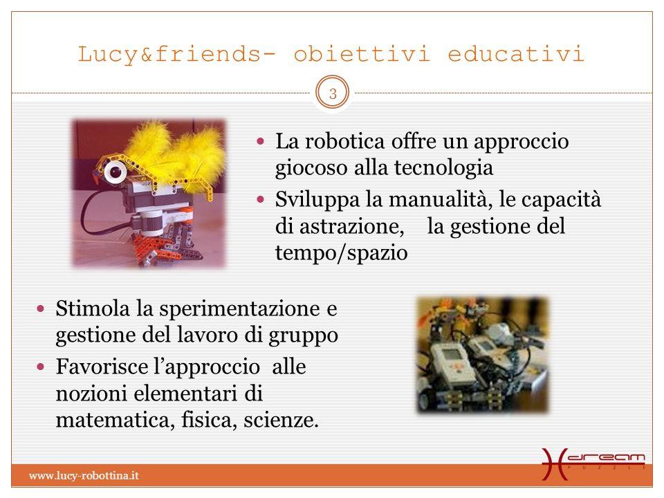 Lucy&friends- obiettivi educativi