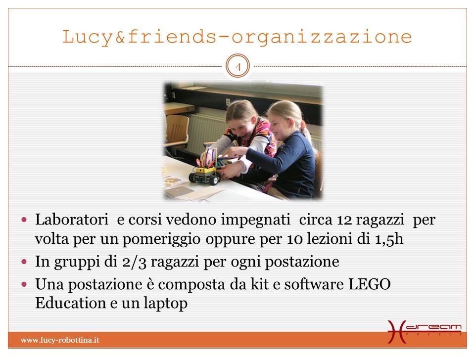 Lucy&friends-organizzazione