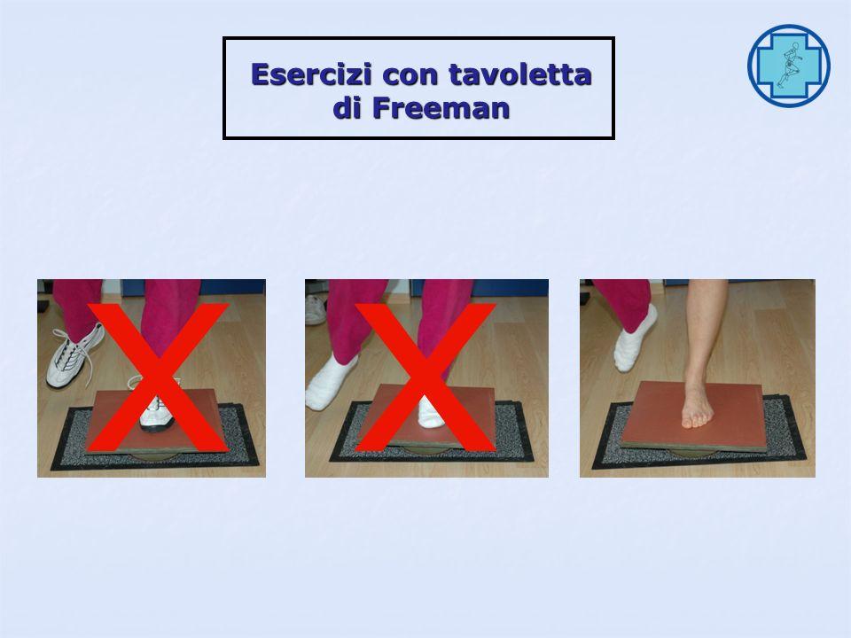 Esercizi con tavoletta di Freeman