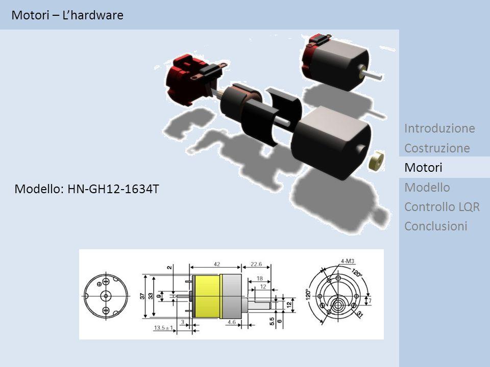 Motori – L'hardware Introduzione. Costruzione. Modello.