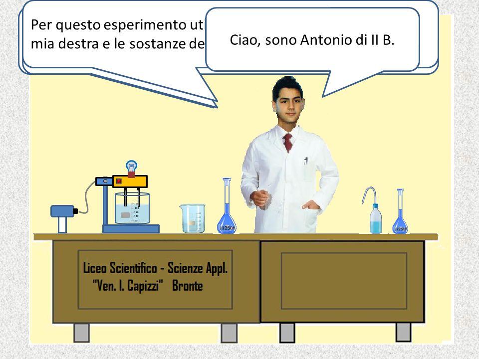 Ciao, sono Antonio di II B.