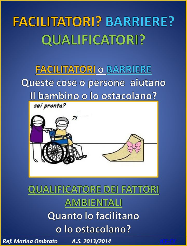 FACILITATORI BARRIERE QUALIFICATORI