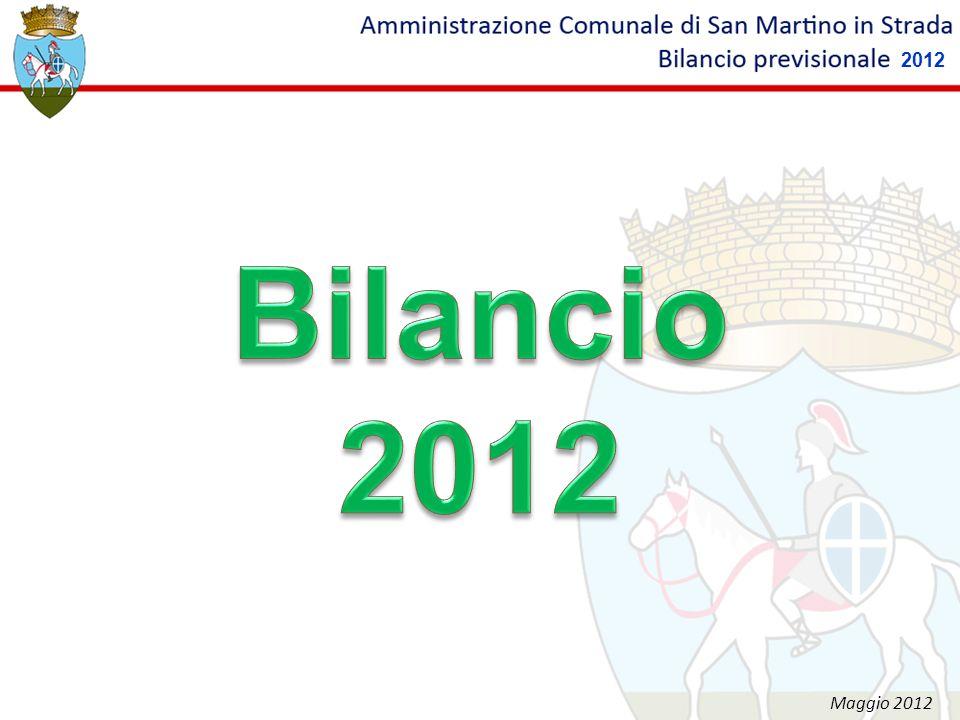 2012 Bilancio 2012 Maggio 2012