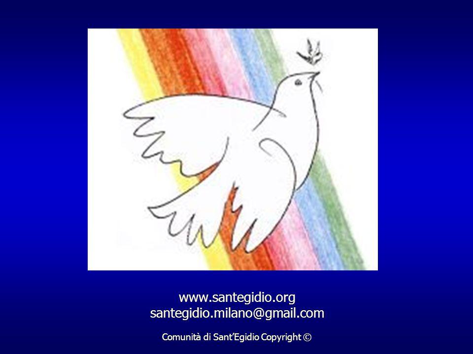www. santegidio. org santegidio. milano@gmail